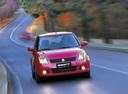 Фото авто Suzuki Swift 3 поколение,  цвет: красный