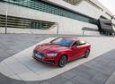 Фото авто Audi A5 2 поколение, ракурс: 45 цвет: красный