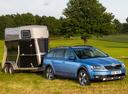 Фото авто Skoda Octavia 3 поколение, ракурс: 315 цвет: синий