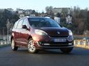 Фото авто Renault Scenic 3 поколение [рестайлинг], ракурс: 315 цвет: бордовый