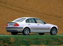 Фото авто BMW 3 серия E46, ракурс: 225 цвет: серебряный
