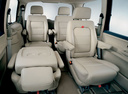 Фото авто Volkswagen Sharan 1 поколение [рестайлинг], ракурс: салон целиком