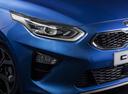 Фото авто Kia Cee'd 3 поколение, ракурс: передние фары цвет: синий