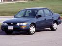 Фото авто Toyota Corolla E100, ракурс: 45 цвет: синий