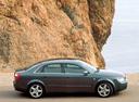 Фото авто Audi A4 B6, ракурс: 270 цвет: мокрый асфальт