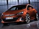 Фото авто Opel Astra J [рестайлинг], ракурс: 45 цвет: оранжевый