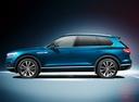 Фото авто Volkswagen Touareg 3 поколение, ракурс: 90 - рендер цвет: синий