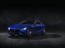 Фото авто Maserati Ghibli 3 поколение [рестайлинг], ракурс: 45 цвет: синий