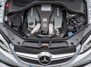 Фото авто Mercedes-Benz GLE-Класс W166/C292, ракурс: двигатель цвет: серебряный