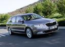 Фото авто Skoda Superb 2 поколение, ракурс: 315 цвет: сиреневый