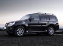 Фото авто Mitsubishi Pajero 4 поколение [рестайлинг], ракурс: 90 цвет: черный