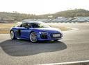 Фото авто Audi R8 2 поколение, ракурс: 315 цвет: голубой