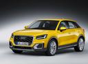 Фото авто Audi Q2 1 поколение, ракурс: 45 цвет: желтый