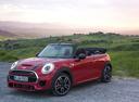 Фото авто Mini Cabrio F57, ракурс: 45 цвет: красный