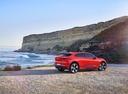 Фото авто Jaguar I-Pace 1 поколение, ракурс: 225 цвет: бордовый