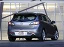 Фото авто Mazda 3 BL, ракурс: 225 цвет: синий