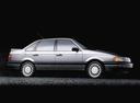 Фото авто Volkswagen Passat B3, ракурс: 270 цвет: серебряный