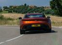 Фото авто Aston Martin DB11 1 поколение, ракурс: 180 цвет: оранжевый