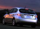 Фото авто Subaru Impreza 3 поколение, ракурс: 135 цвет: серебряный