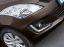 Фото авто Suzuki Swift 4 поколение [рестайлинг], ракурс: передняя часть цвет: коричневый