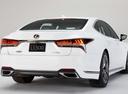 Фото авто Lexus LS 5 поколение, ракурс: 225 цвет: белый
