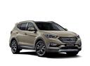 Фото авто Hyundai Santa Fe DM [рестайлинг], ракурс: 315 - рендер цвет: бежевый