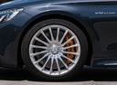 Фото авто Mercedes-Benz S-Класс W222/C217/A217 [рестайлинг], ракурс: колесо цвет: синий