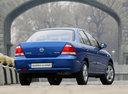 Фото авто Nissan Almera Classic B10, ракурс: 225 цвет: синий