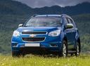 Фото авто Chevrolet TrailBlazer 2 поколение, ракурс: 45 цвет: синий