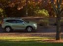 Фото авто Subaru Forester 5 поколение, ракурс: 270 цвет: зеленый