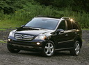 Фото авто Mercedes-Benz M-Класс W164, ракурс: 45 цвет: черный