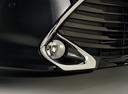 Фото авто Toyota Camry XV50 [рестайлинг], ракурс: передние фары цвет: черный