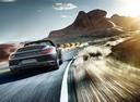 Фото авто Porsche 911 991 [рестайлинг], ракурс: 180 цвет: мокрый асфальт