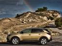 Фото авто Opel Grandland X 1 поколение, ракурс: 90 цвет: золотой