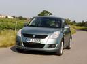 Фото авто Suzuki Swift 4 поколение,  цвет: зеленый