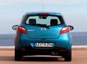 Фото авто Mazda 2 DE [рестайлинг], ракурс: 180 цвет: голубой