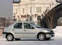 Фото авто Renault Logan 1 поколение, ракурс: 270 цвет: серебряный