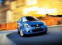 Фото авто Suzuki Swift 3 поколение,  цвет: синий