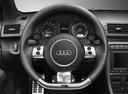 Фото авто Audi RS 4 B7, ракурс: рулевое колесо