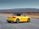 Фото авто Audi TT 8S [рестайлинг], ракурс: 225 цвет: желтый