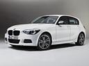 Фото авто BMW 1 серия F20/F21, ракурс: 45 цвет: белый