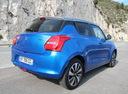 Фото авто Suzuki Swift 5 поколение, ракурс: 225 цвет: голубой