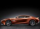 Фото авто Aston Martin Vanquish 2 поколение, ракурс: 90 - рендер цвет: оранжевый