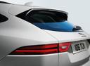 Фото авто Jaguar E-Pace 1 поколение, ракурс: задняя часть цвет: белый