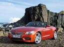 Фото авто BMW Z4 E89, ракурс: 45 цвет: красный