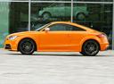 Фото авто Audi TT 8J [рестайлинг], ракурс: 90 цвет: оранжевый