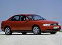 Фото авто Audi A4 B5, ракурс: 315 цвет: красный