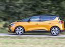 Фото авто Renault Scenic 4 поколение, ракурс: 90 цвет: желтый