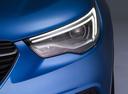 Фото авто Opel Grandland X 1 поколение, ракурс: передние фары цвет: синий