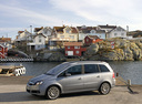 Фото авто Opel Zafira B, ракурс: 90 цвет: серебряный